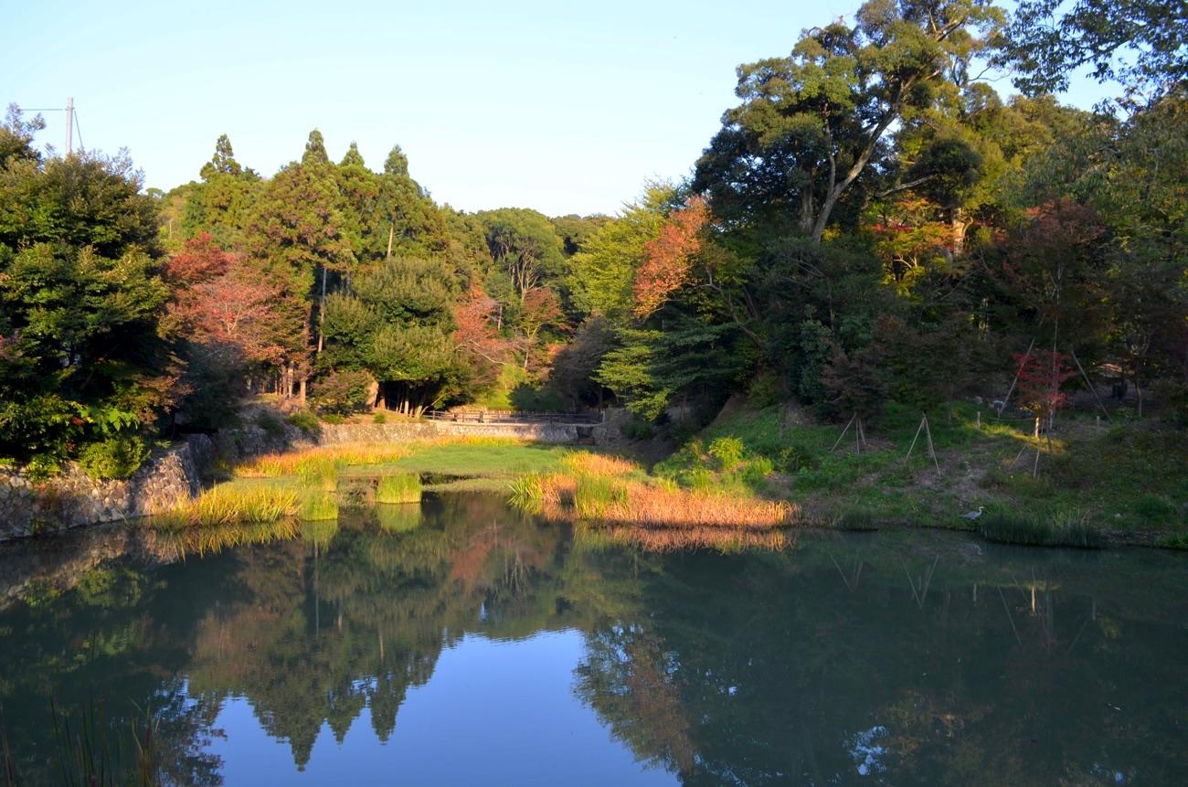 八嶋ヶ池(おさんば池)