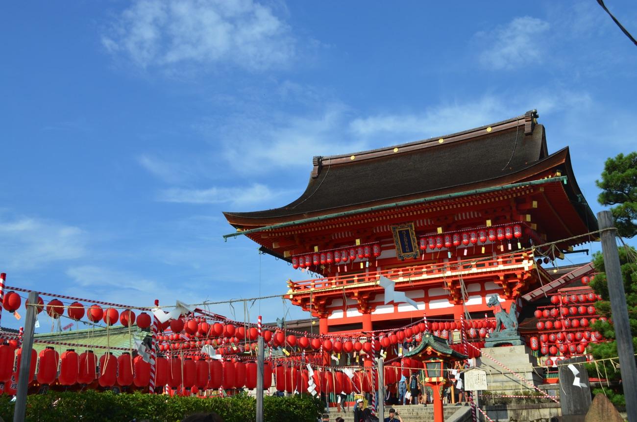 本宮祭の楼門