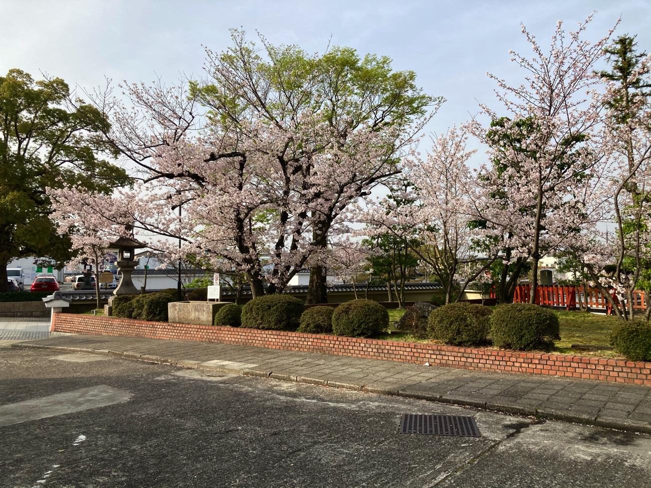 儀式殿の庭園