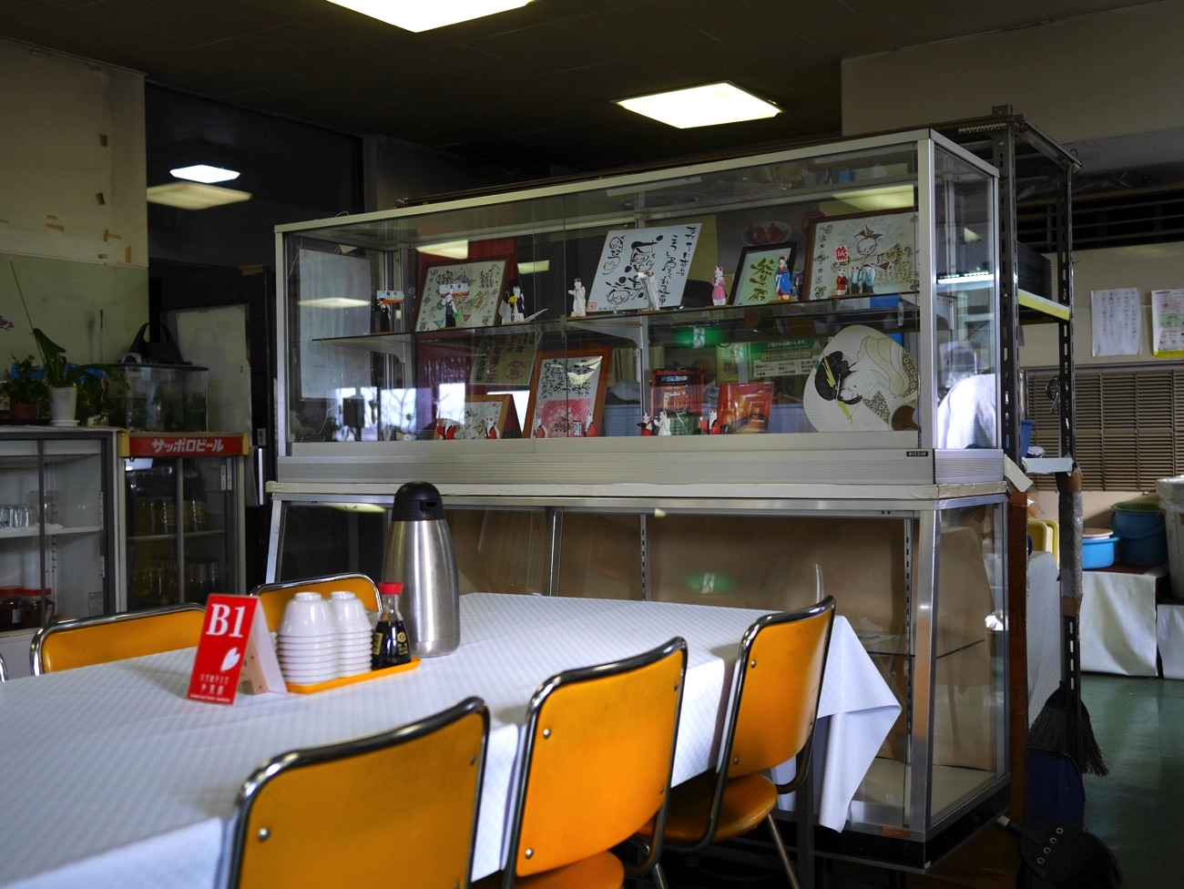 食堂の雰囲気