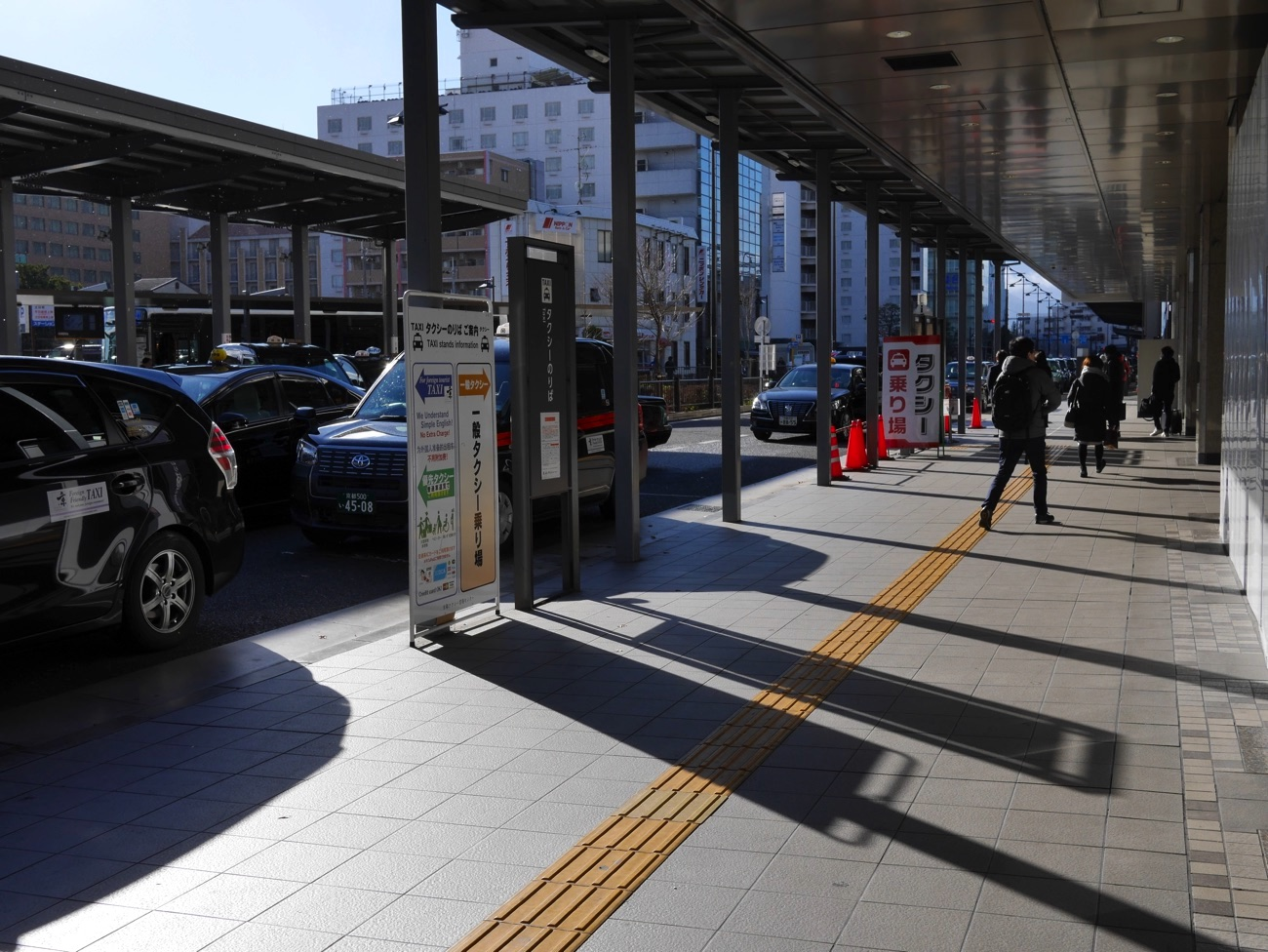 京都駅八条口タクシー乗り場