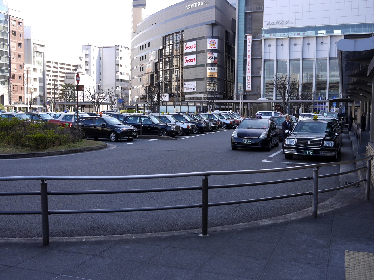 京都駅烏丸口一般タクシー乗り場