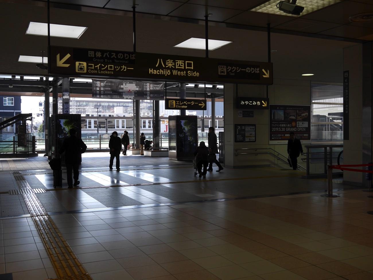 新幹線中央口の近く